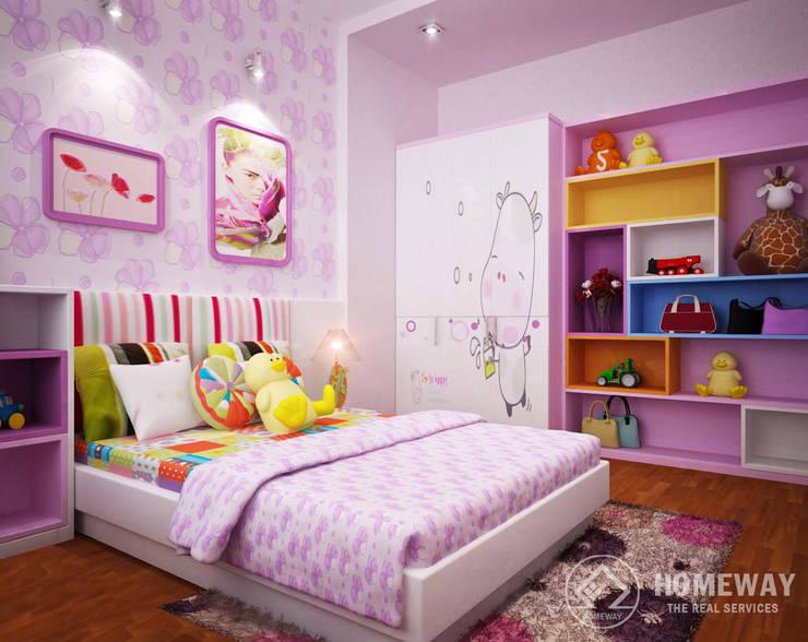 Phòng ngủ trẻ em:  Phòng trẻ em by HOMEWAY
