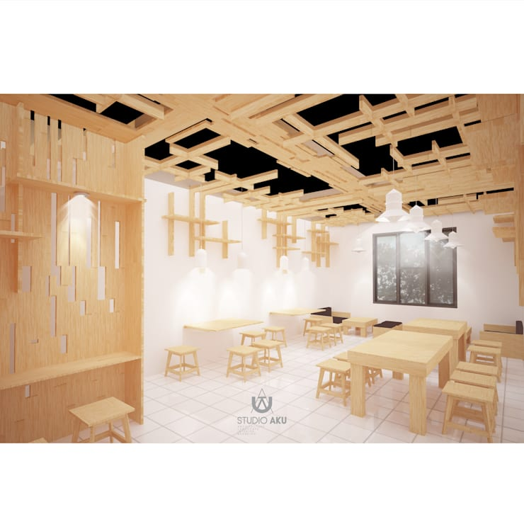 Cafeeiro 04:  Ruang Komersial by Studio AKU