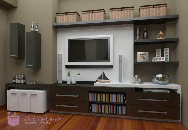 PROYECTO: Salas multimedia de estilo  por En Tu Interior