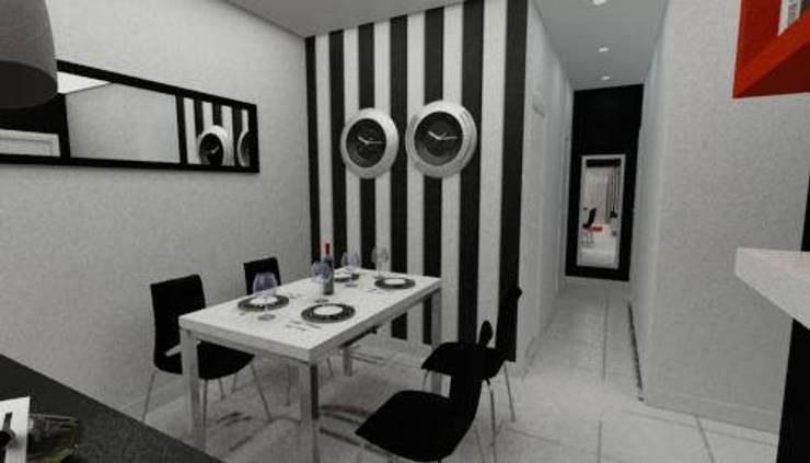 Proyecto: Comedores de estilo  por En Tu Interior