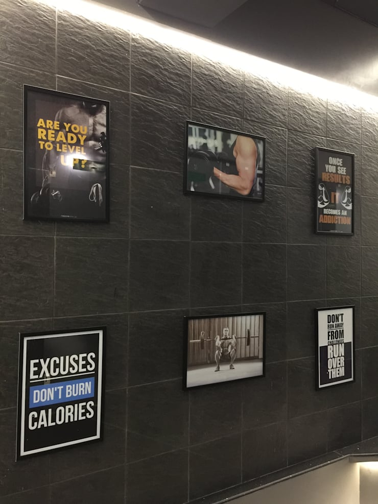 GYM TOWN:  Commercial Spaces by FUTURE SPACES ORGANISATION (FSO)