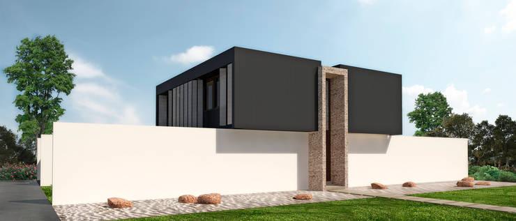 Einfamilienhaus von NEF Arq.