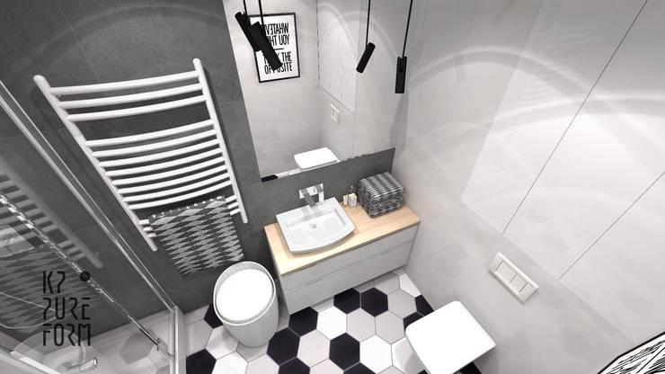 Baños de estilo  por Katarzyna Piotrowiak Pure Form