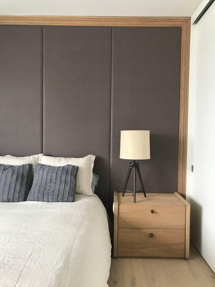Habitacion : Habitaciones de estilo minimalista por Ecologik