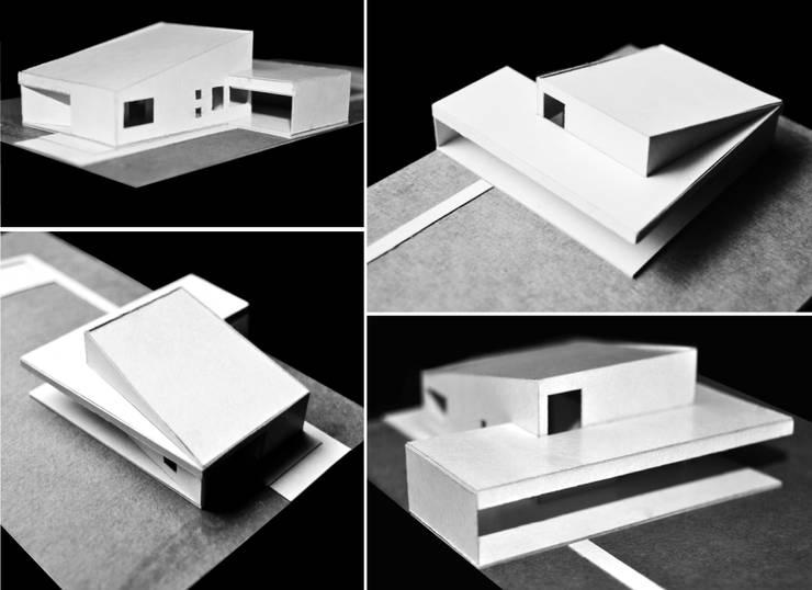 Casa TWA: Casas unifamiliares de estilo  por S.TS Arquitectos,