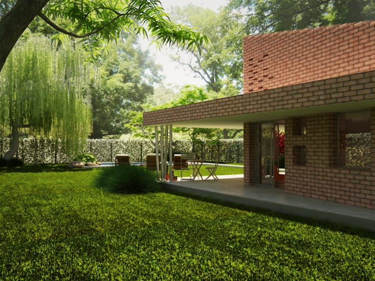 Casa TWA: Casas de estilo  por S.TS Arquitectos,