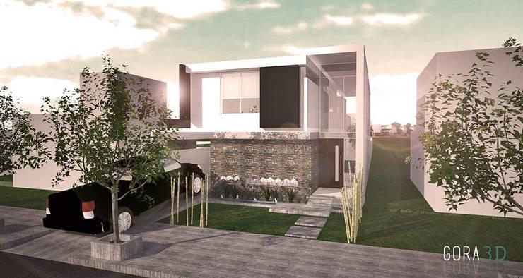 de GORA Arquitectura 3D Moderno