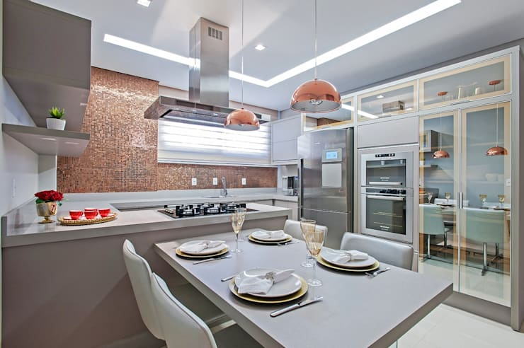 Dapur by Carolina Kist Arquitetura & Design