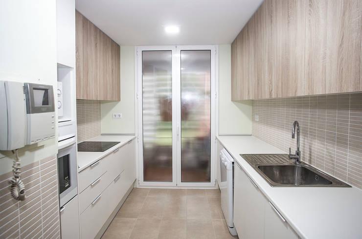 廚房 by Grupo Inventia