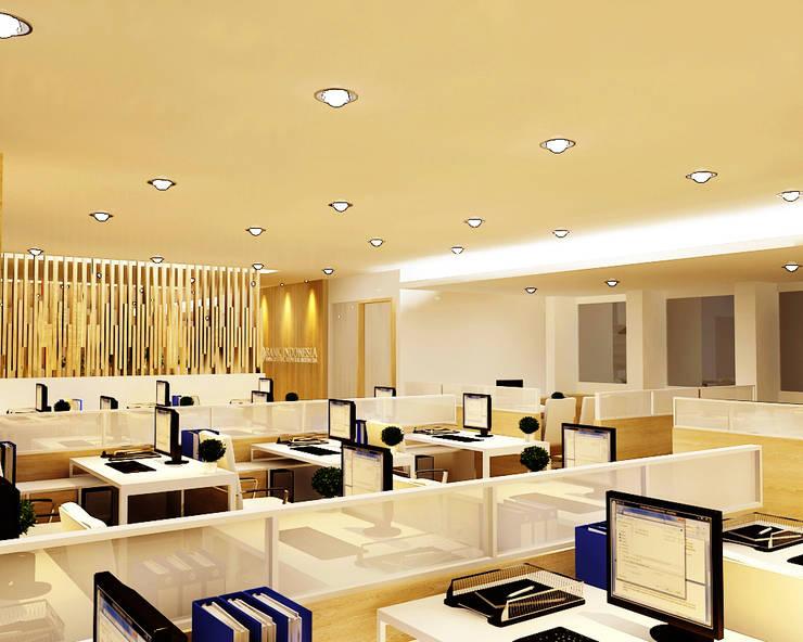 Ruang Kerja Bank Indonesia:  Kantor & toko by samma design