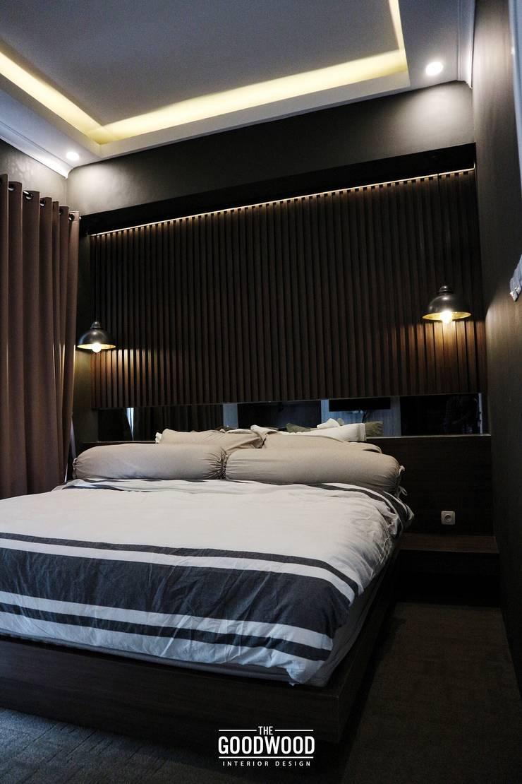 Rumah A+S:  Kamar Tidur by The GoodWood Interior Design