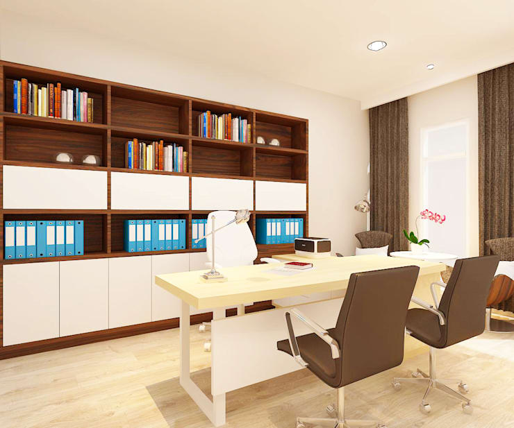 "Asuransi ""HARTA"":  Kantor & toko by samma design"