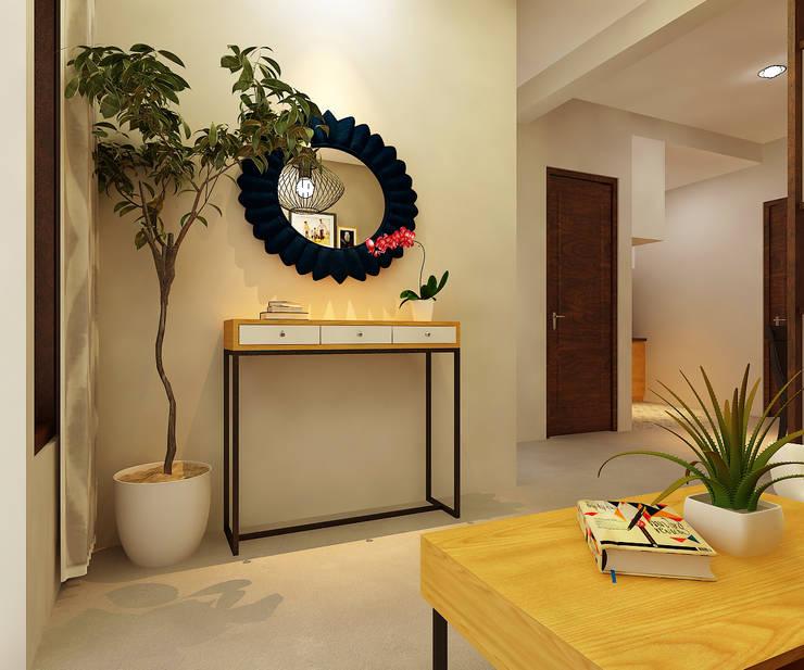 Rumah Tinggal Bpk Beni:  Ruang Keluarga by samma design