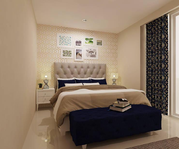 Rumah Tinggal Bpk. Arif:  Kamar Tidur by samma design