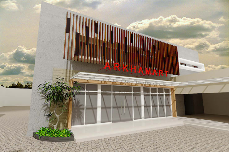 Toko <q>ARKHAMART</q>:  Kantor & toko by samma design