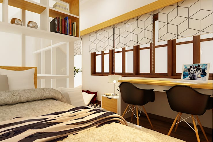 Rumah Ibu Destilla:  Kamar Bayi & Anak by samma design