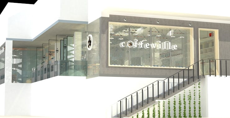 Coffeville-Commercial Cafe:   by monolith projects