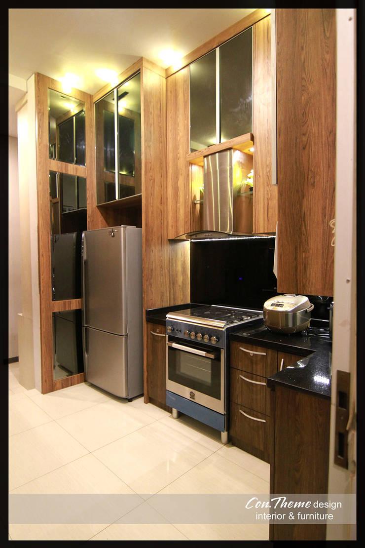 Dapur Minimalis:  Kitchen by Contheme Design