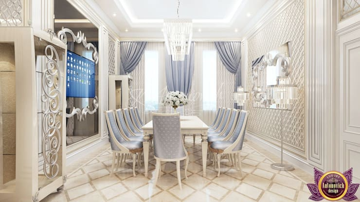 Modern dining room by Luxury Antonovich Design Modern