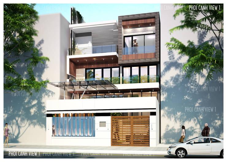 BIỆT THỰ LÔ PHỐ ANH VINH - THỦY NGUYÊN - THÀNH PHỐ HẢI PHÒNG :   by công ty cổ phần Thiết kế Kiến trúc Việt Xanh