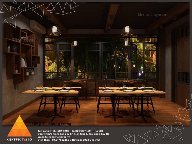 Tầng 3:  Phòng ăn by KIẾN TRÚC TÂY HỒ