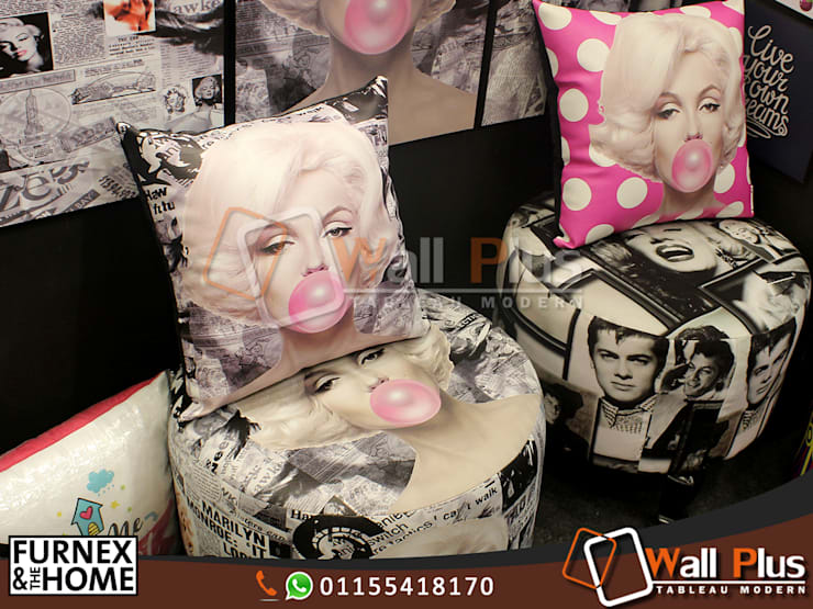 Marilyn Monroe:  غرفة المعيشة تنفيذ WALL PLUS