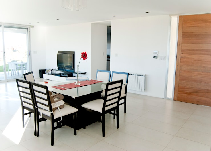 Salas de estilo moderno por S.TS Arquitectos