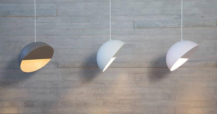Serie lámpara modelo Crescent de Natural Urbano Moderno