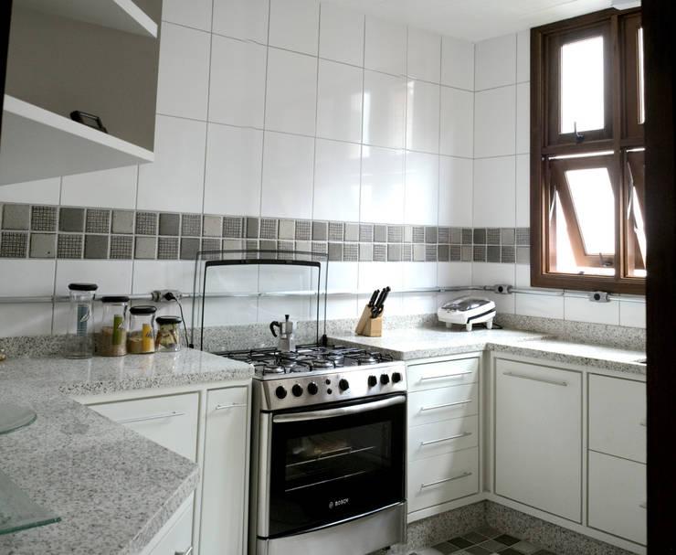Projekty,  Kuchnia na wymiar zaprojektowane przez JMN arquitetura