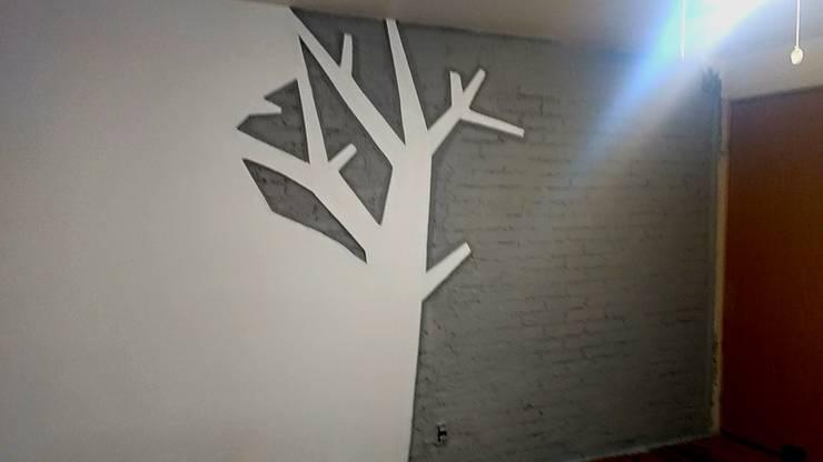 Rediseño de recámara.: Recámaras de estilo minimalista por Forja Terra