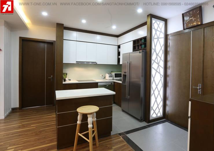 Phòng bếp:   by Công Ty Cổ Phần Sáng Tạo Nhóm Một