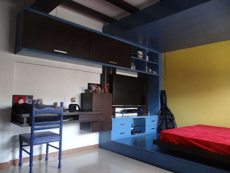 Kid's Bedroom : modern Bedroom by Core Design
