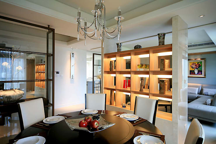 Dining room by 四一室內裝修有限公司