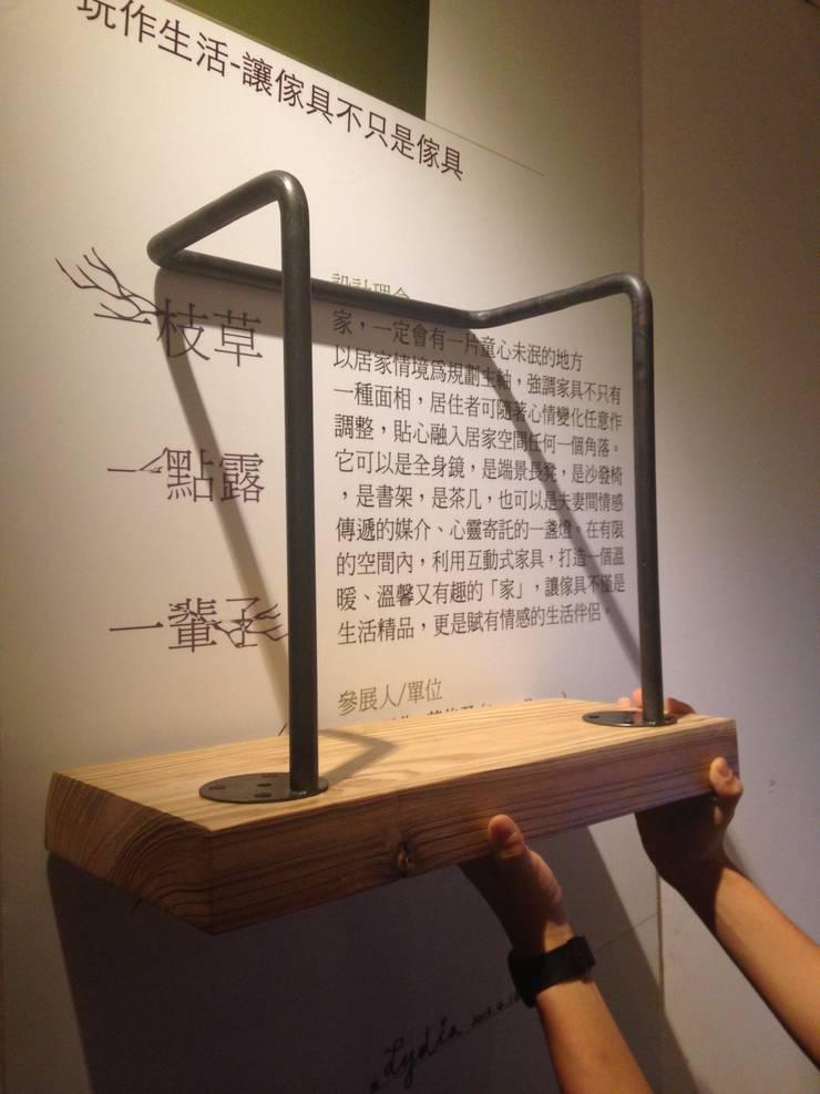 小書架:  書房/辦公室 by 四一室內裝修有限公司