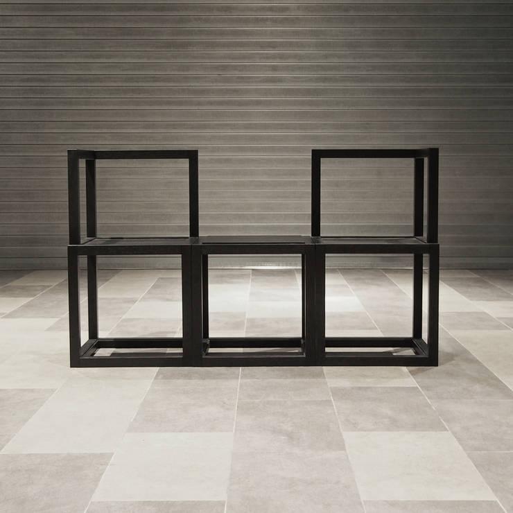 組合-椅:  室內景觀 by 四一室內裝修有限公司