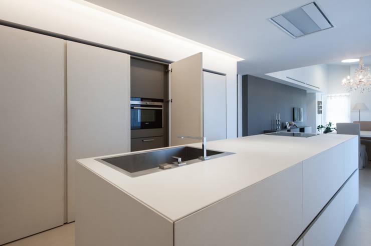 Projekty,  Kuchnia na wymiar zaprojektowane przez QUADRASTUDIO