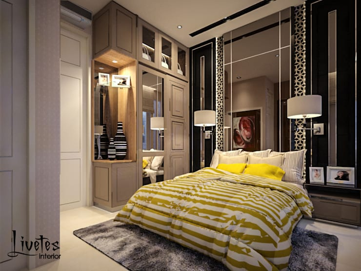 Guest Bedroom:  Kamar Tidur by PT Kreasi Cemerlang Abadi