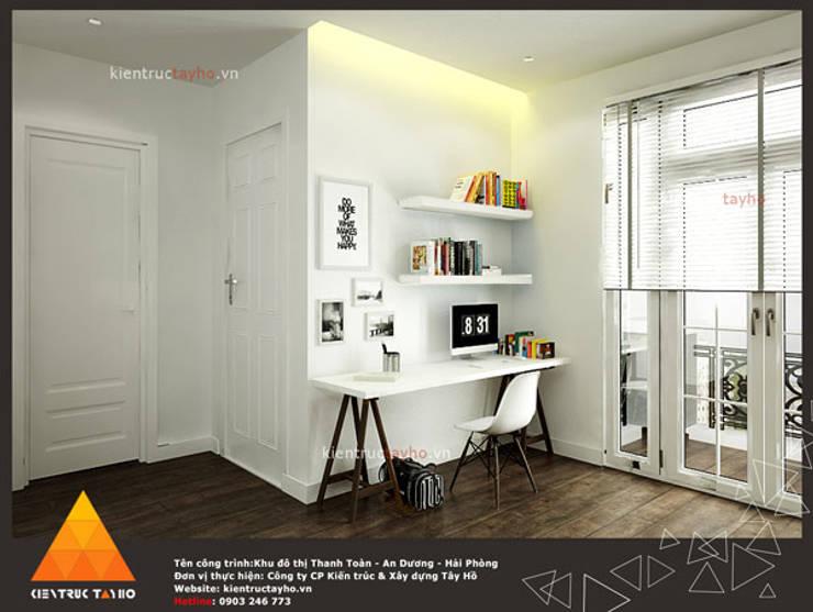 Phòng làm việc 2:  Phòng học/Văn phòng by KIẾN TRÚC TÂY HỒ