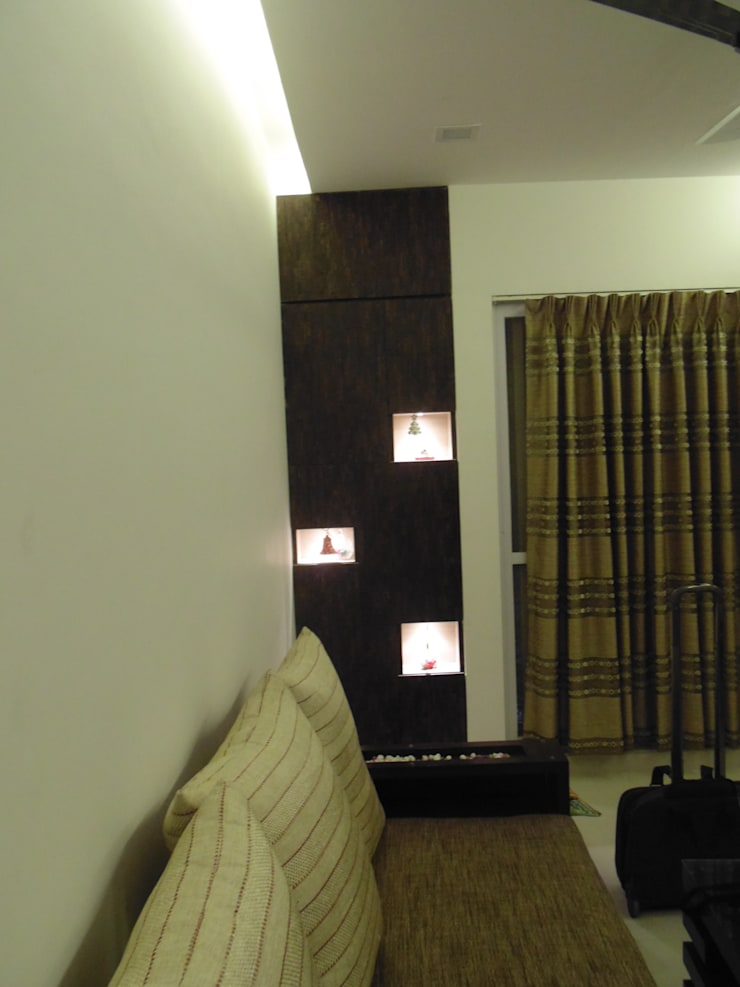 IMPERIUM BALEWADI: modern Living room by decormyplace