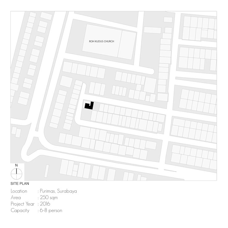 Site Plan:   by studiopapa