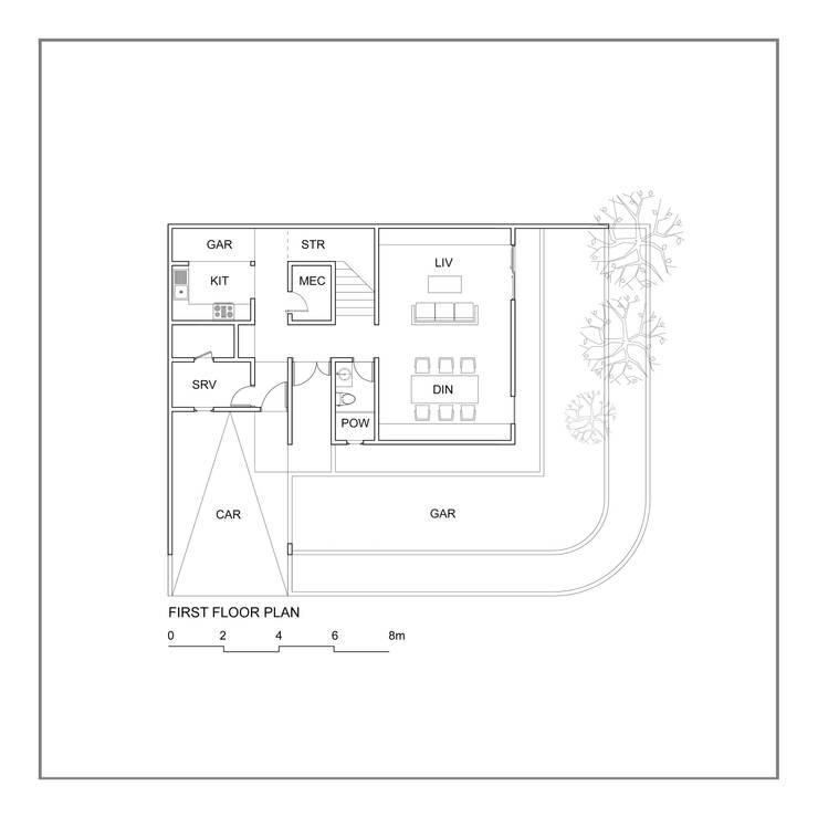 Denah Lantai 1:   by studiopapa