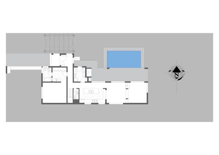 CASA AV – CINCO SALTOS – RIO NEGRO: Casas de estilo  por Arq. Vieyra,