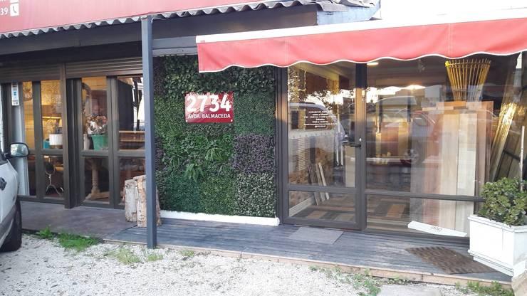 JARDINES VERTICALES: Paisajismo de interiores de estilo  por RIDÓ