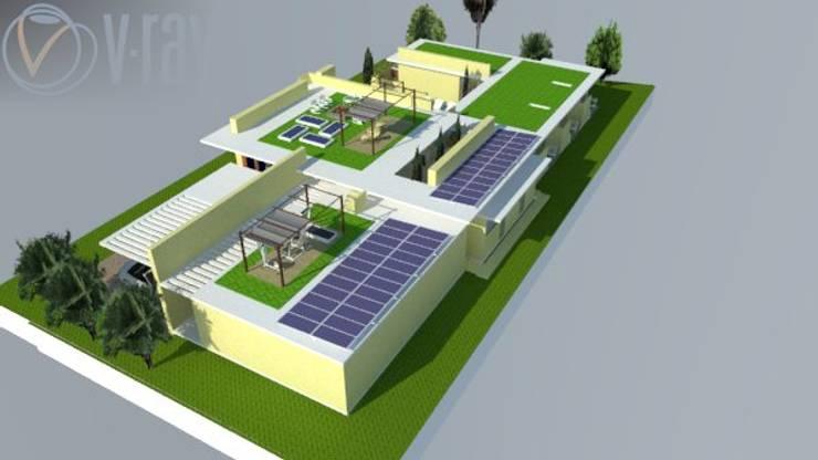 Casas de campo de estilo  por Heritage Design GROUP,