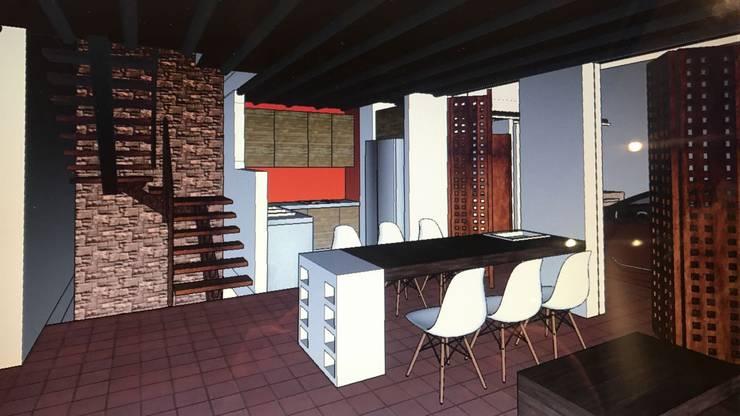 Casa Barichara: Casas unifamiliares de estilo  por Heritage Design GROUP,