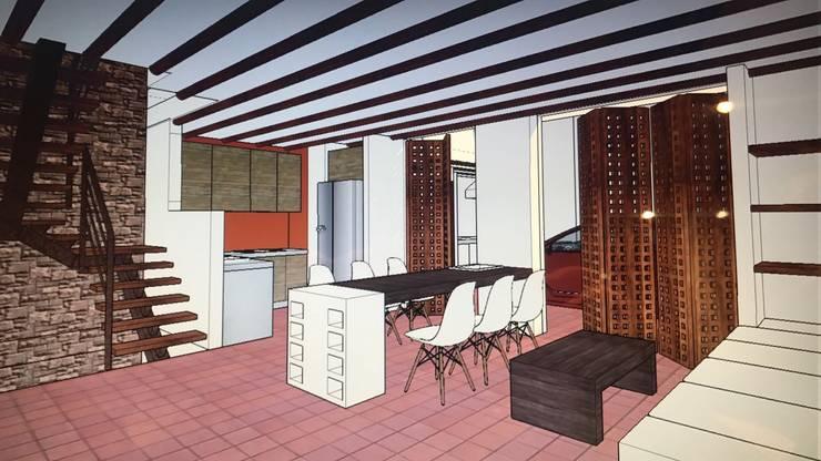 Casa Barichara: Casas campestres de estilo  por Heritage Design GROUP,