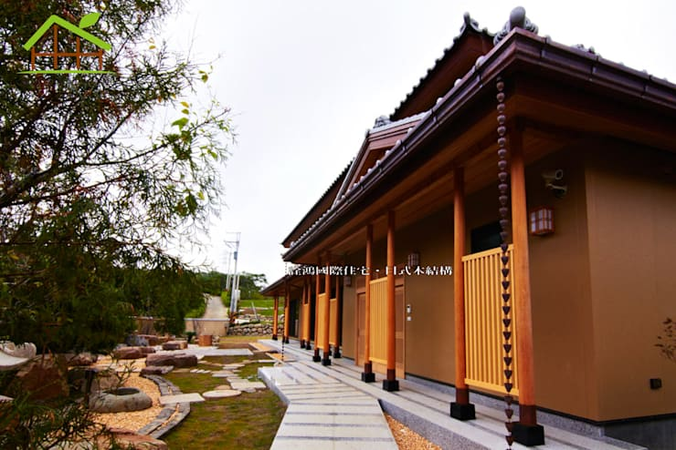 Houses by 詮鴻國際住宅股份有限公司, Asian