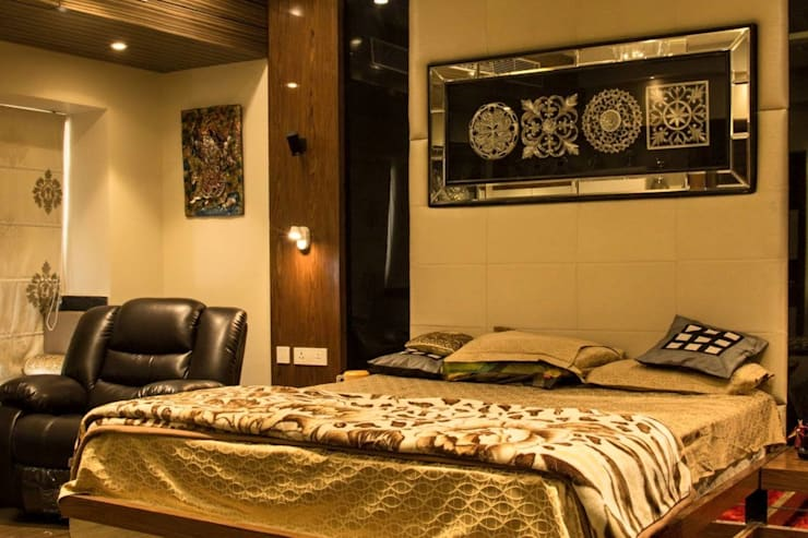 Your Home Should Tell The Story Of Who You Are, And Be A Collection Of What You Love..:  Bedroom by FYD Interiors Pvt. Ltd,Rustic