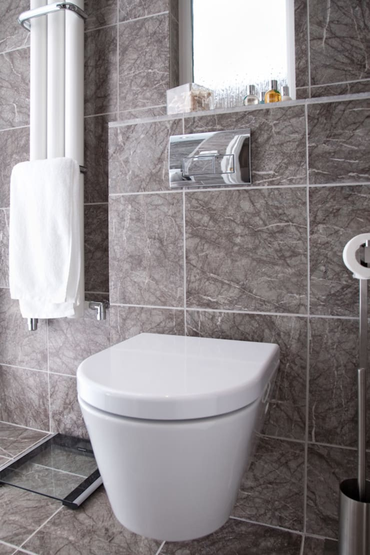 ห้องน้ำ โดย Threesixty Services Ltd, โมเดิร์น