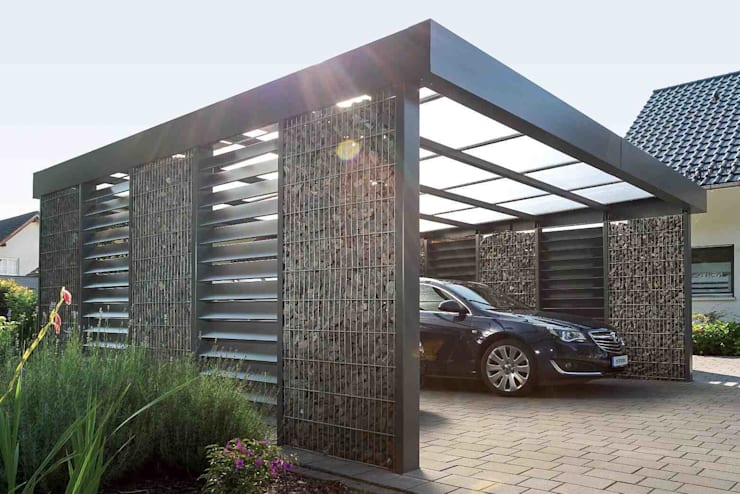 Carport by Steelmanufaktur Beyer